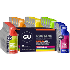 GU Energy Roctane Energy Gel Box 24 x 32g, Mixed